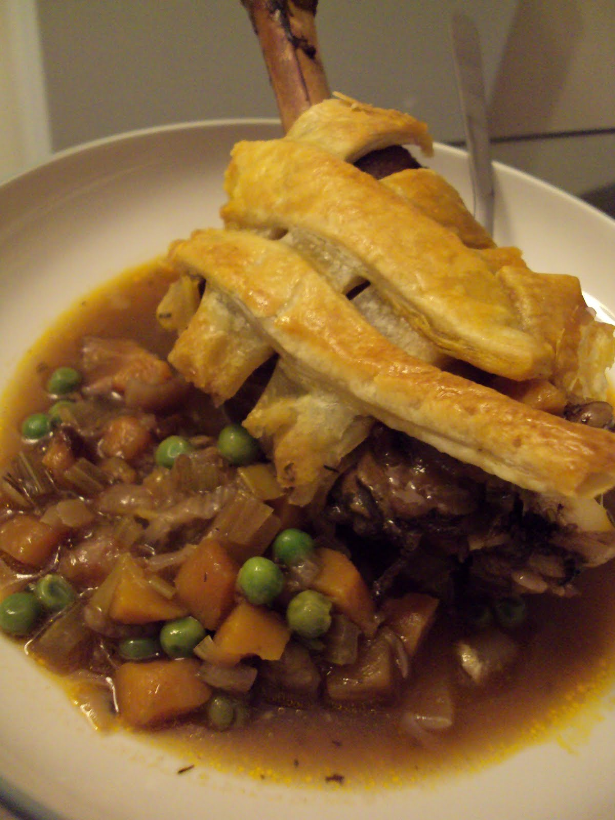 comfort, I suggest lovely lamb shank pie . Just saying the ...