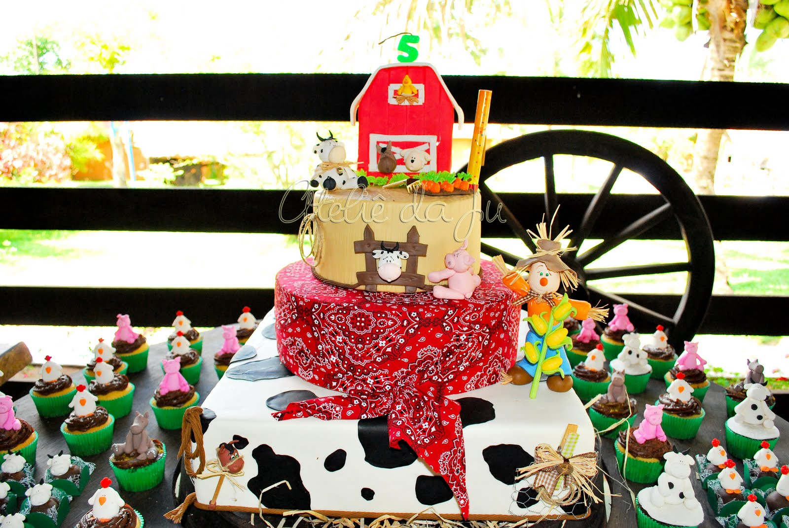 Party Ideas Farm Barnyard Birthday Party Farmyard Theme Party