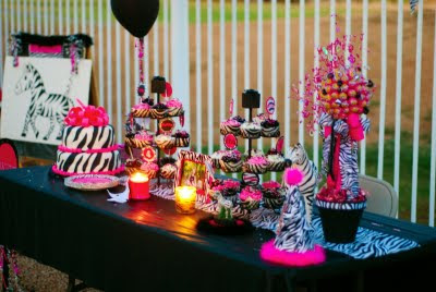 Zebra Birthday Party - Kara's Party Ideas - The Place for All