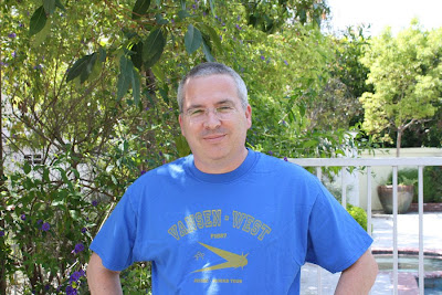 Glen Morgan wearing our T-Shirts!