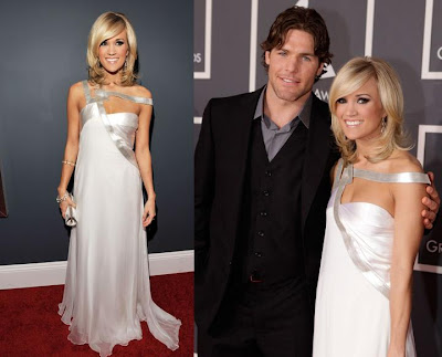 Carrie Underwood and my home town Ottawa Senators player Mike Fisher.