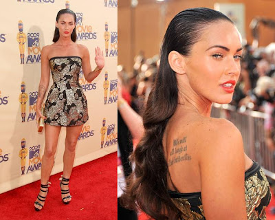 megan fox hair extensions. Megan Fox.
