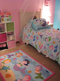 Girls Mermaids Bedding