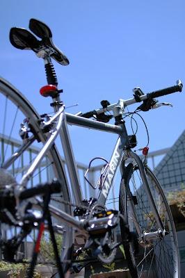 僕の自転車、マーリン社のポイント・レイズ