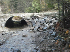 completed culvert on bigfoot creek