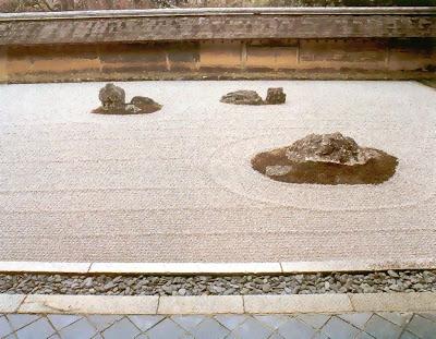 Praça de Descontração Jardim+Ryoan-ji+B039