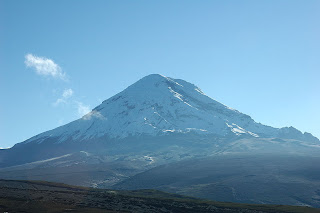 Chimborazo from west
