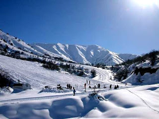 Chimgan ski resort