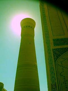Kalyan minaret in Bukhara