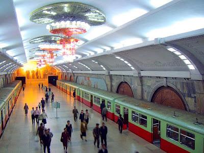 Pyongyang, metro