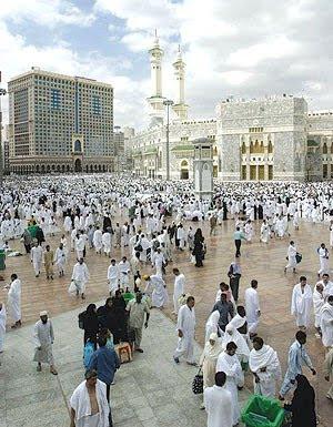 Masjid al harem, Mecca
