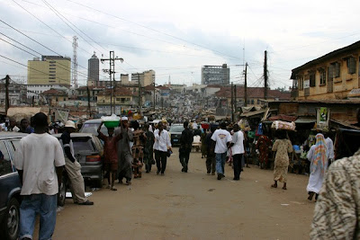 Street scene in Ibadan city