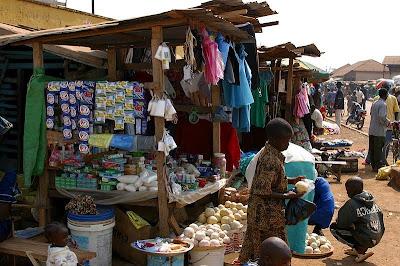 Kissidougou town market