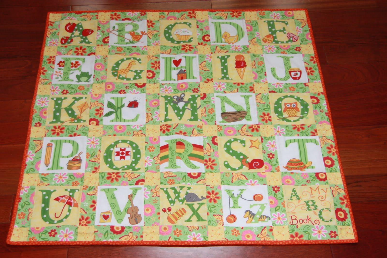 Impressive ABC Baby Quilt Pattern 1600 x 1067 · 248 kB · jpeg