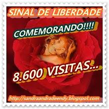 COMEMORANDO 8.600 VISITAS.
