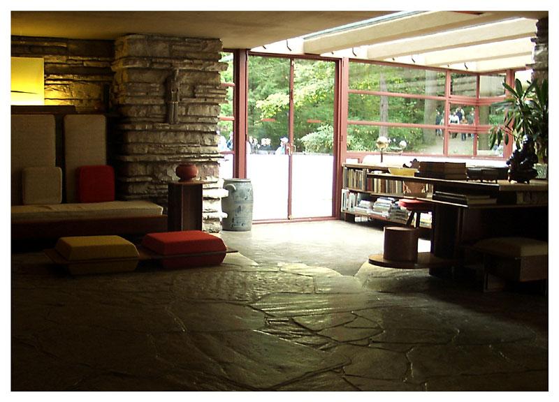Lo arquitect nico casa de la cascada frank lloyd wright Cascadas para interiores
