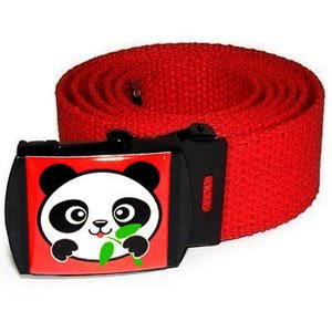red panda belt