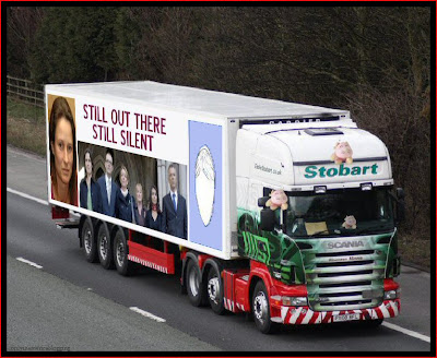 Official Find Madeleine FB page takes over the Eddie Stobart page Silent