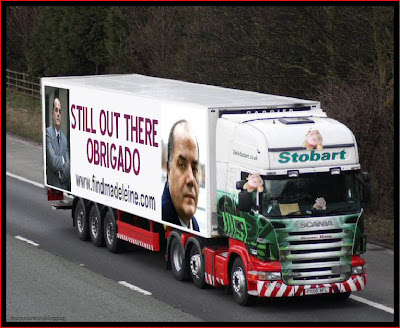 Official Find Madeleine FB page takes over the Eddie Stobart page Obrigado