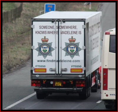 Official Find Madeleine FB page takes over the Eddie Stobart page Leics_plod