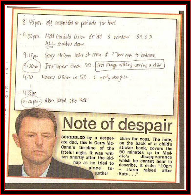 OnlyInAmerica blog:  Jane Tanner Liar, Gerry McCann Liar, They Are All Liars  Note_of_despairation