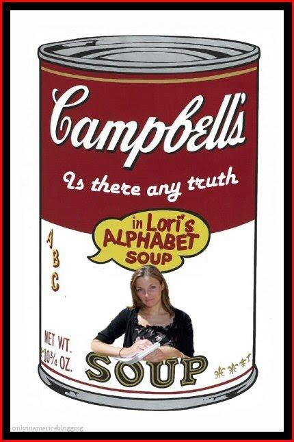The McCann Gallery: Lori Campbell's Alphabet Soup
