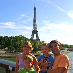 Enjoying the Eiffel Tower
