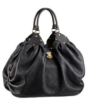 Louis Vuitton Mahine Leather Hobo Handbag