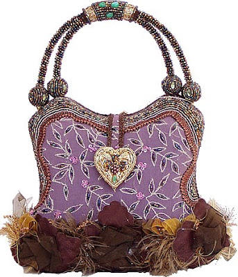 Mary Frances Bag Berry Beautiful