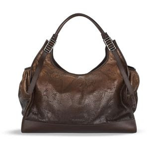 Burberry Degrade Lace Leather Handbag