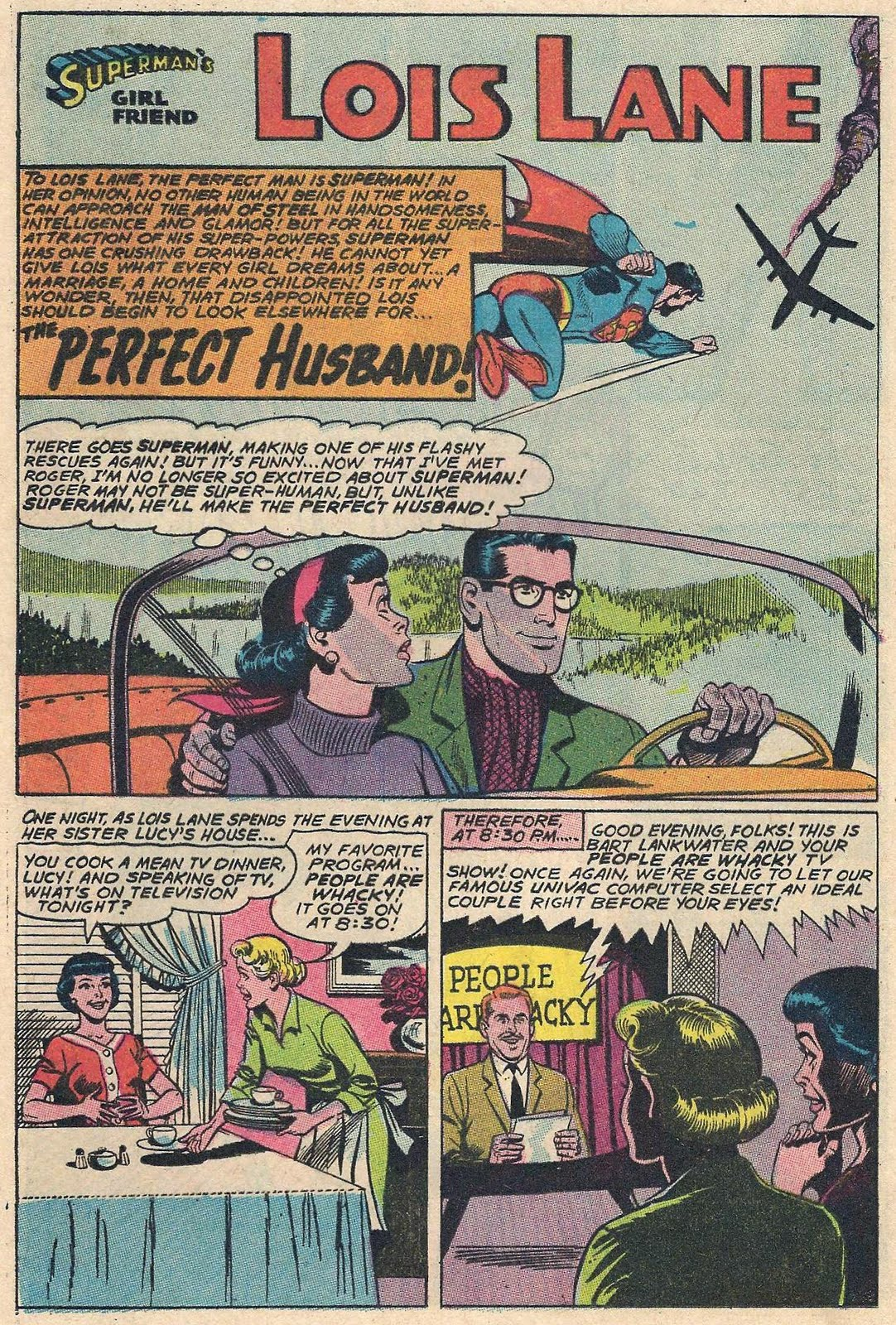 So it only seem right for Gay for Lois Lane to present The Perfect Husband ...