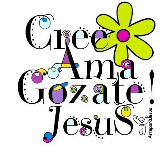 Gozate en Jesus