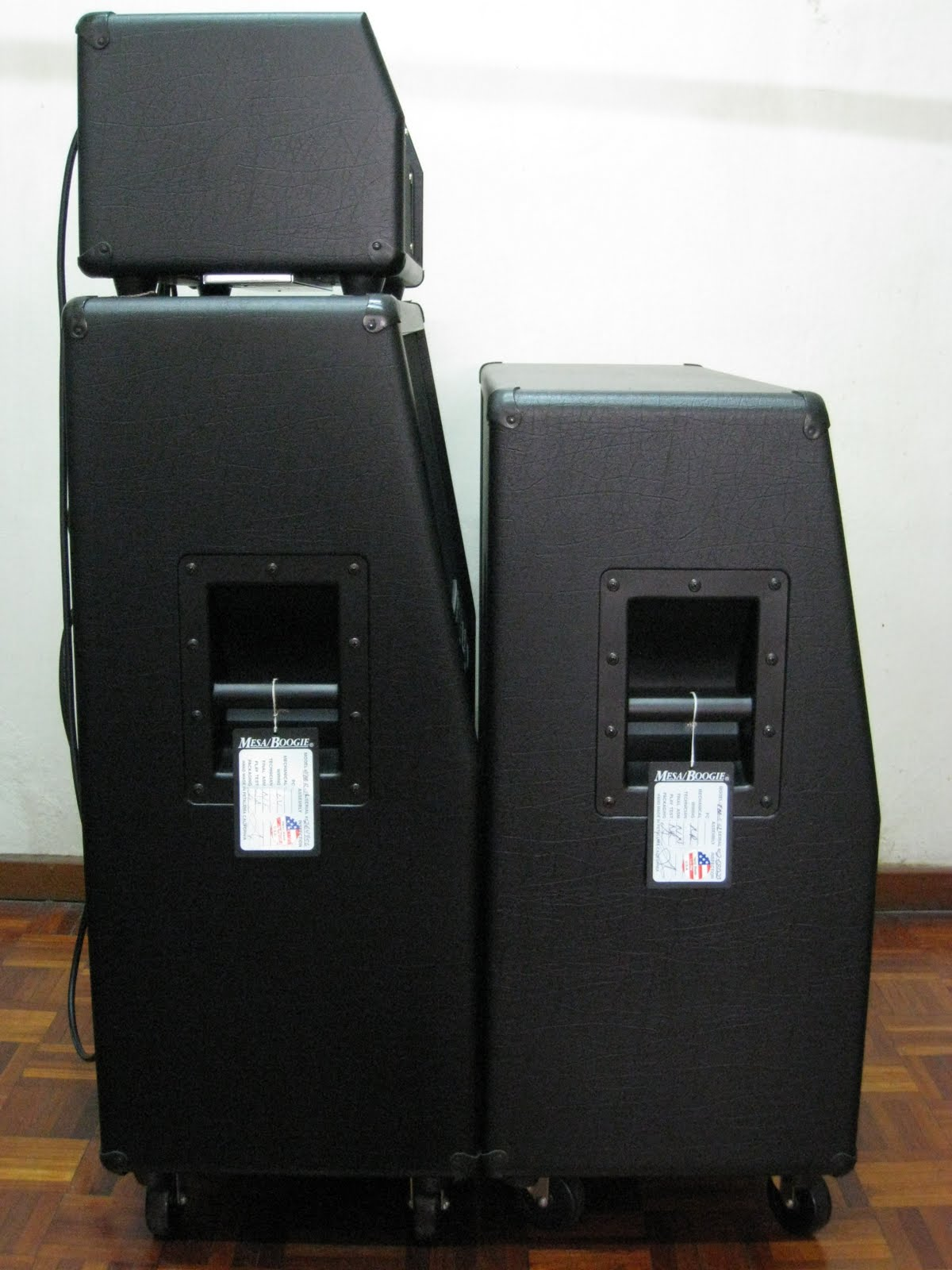 Stiletto Traditional Cabinet Is Much Smaller Than Rectifier Cabinet. For  The Performance Wise, These Two Cabinets Have Very Obvious Difference