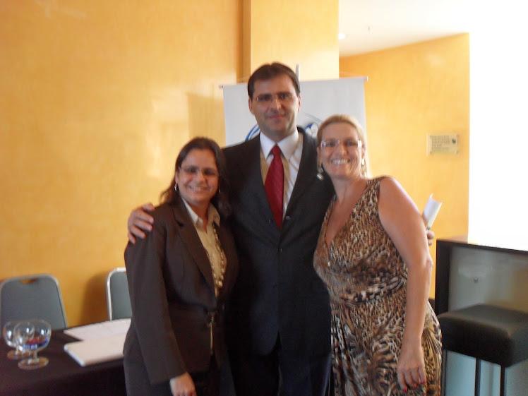 Drª ANA RITA, Dr. GEZA E Drª BETH FERNANDEZ