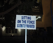 Jeremy Deller, Sitting On The Fence Is Strictly Prohibited, 2008,