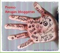 PREMIO DE AMIG@S BLOGUERAS
