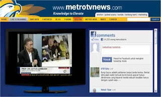 Metro TV Streaming | TV Online Indonesia