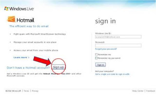 Hotmail Login or Signup