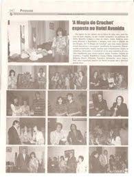 """Magia do crochet  no Jornal  """"Correio dos Açores"""""""