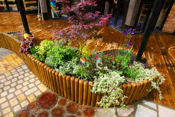 Let the children play just add greenery for Sensory garden designs