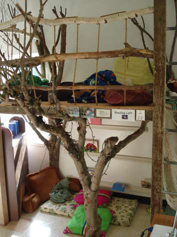 Let the children play creating quiet spaces for young for Treehouse kids room