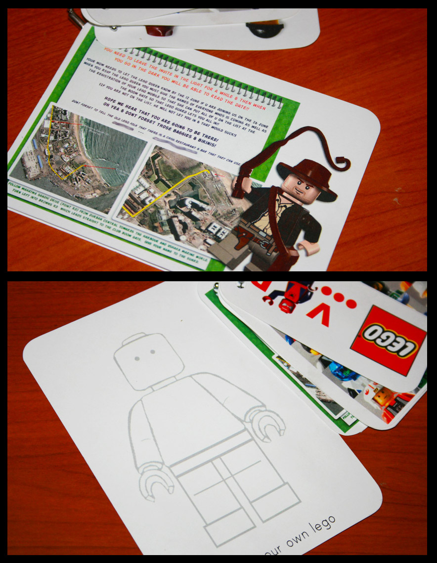 Lego And Invitations