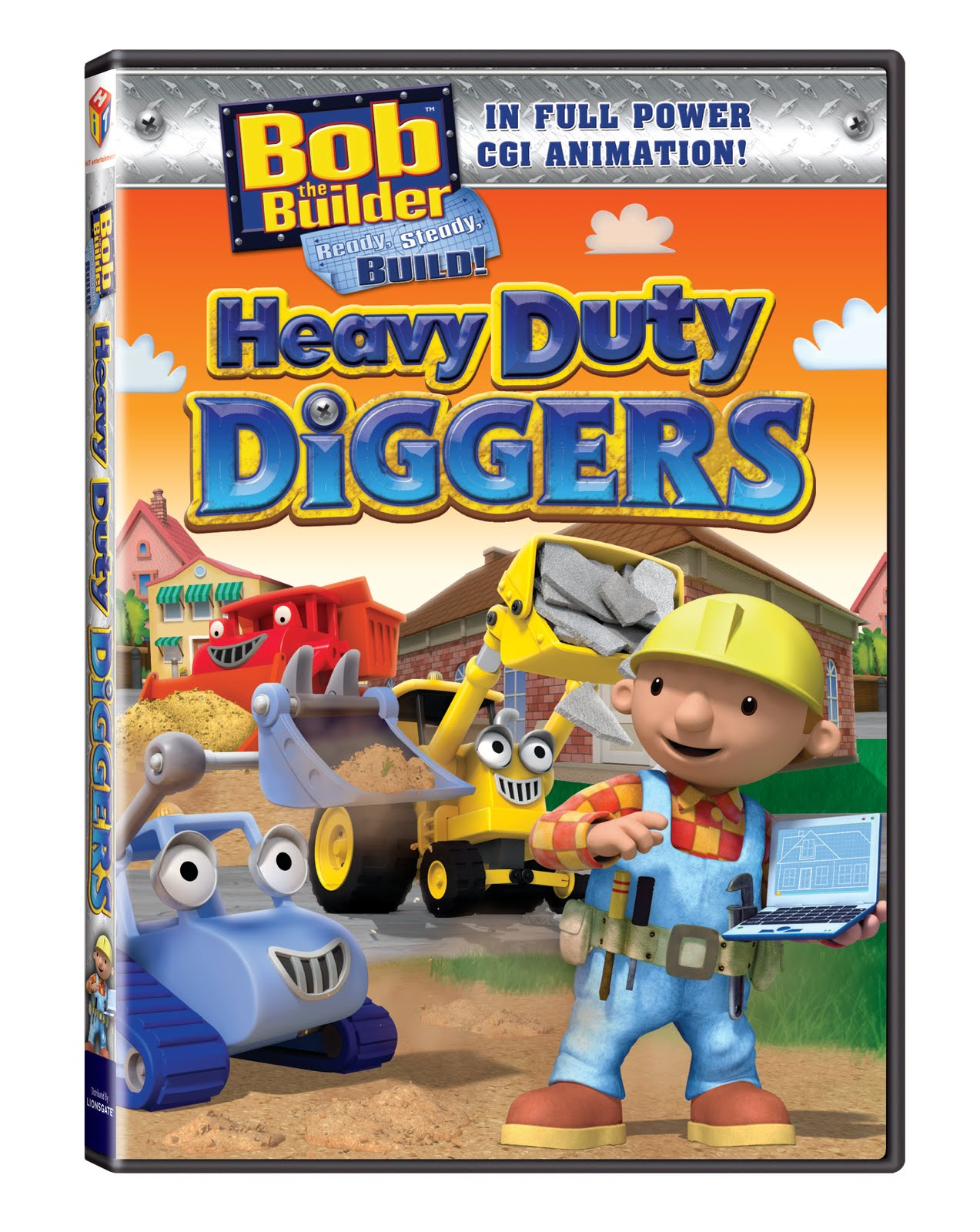 "Can we build it, YES we can, Can we fix it, YES we can!"" Bob The Builder Can We Fix It Dvd"