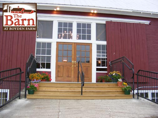 The Barn will be transformed by four seasons of celebration decor and ideas
