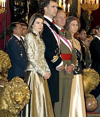 Pictures of The Day: Spanish Royal family....NSI News Source Info # 97