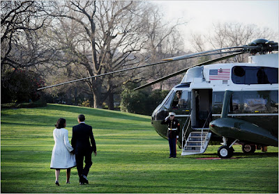 walked to marine one at the white house to begin their european trip