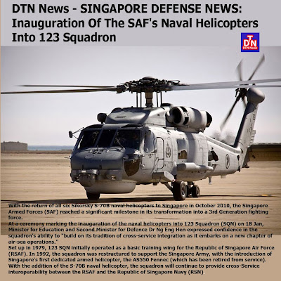 Defense-Technology News: DTN News - SINGAPORE DEFENSE NEWS ...