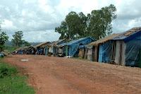 Squatter shack on Otres Beach Road Sihanoukville