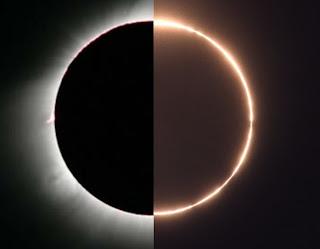 Eclipse híbrido del 8 de abril de 2005