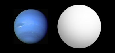 Comparación de HAT-P-11b con Neptuno